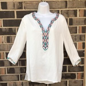 Love Stitch |  embroidered blouse